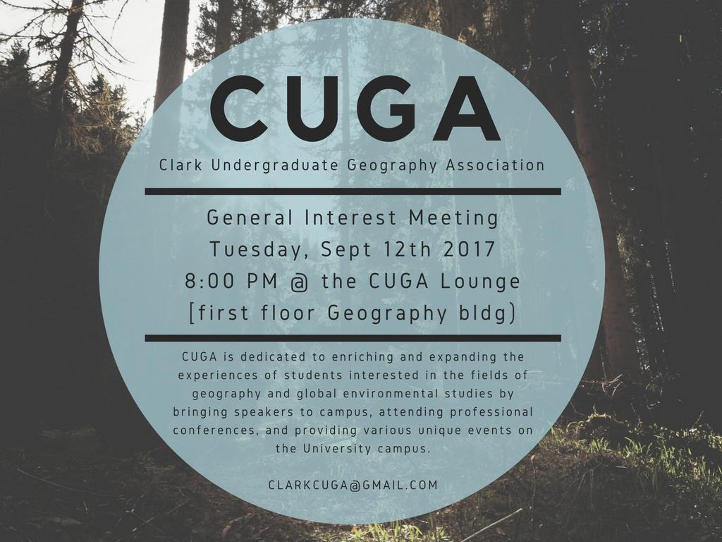 CUGA poster