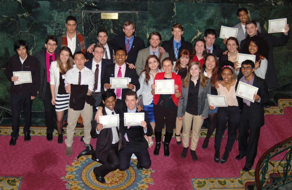 2014 Model UN team