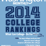 Washington Monthly rankings cover