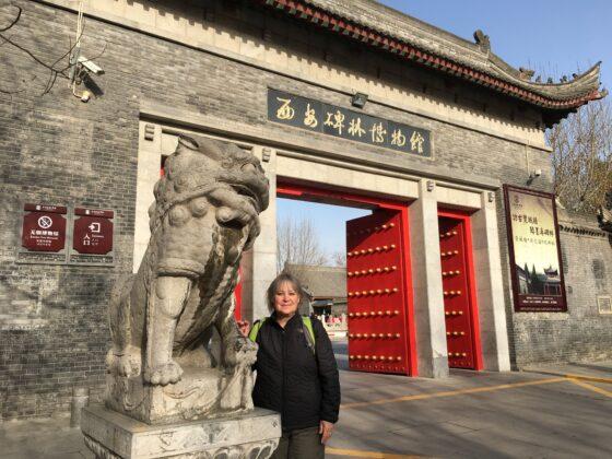 Natalie exploring China